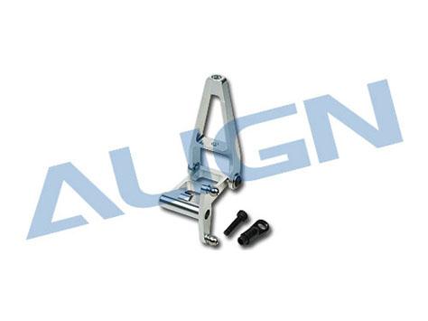 Align T-Rex 700N Nickhebel - Set CNC Alu silber