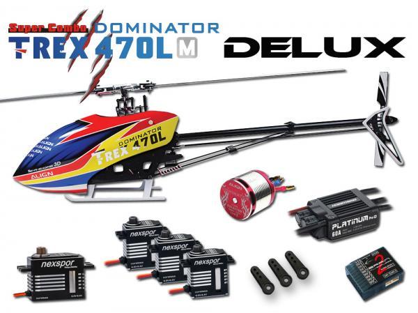 Align T-REX 470LM DOMINATOR DELUX Super Combo