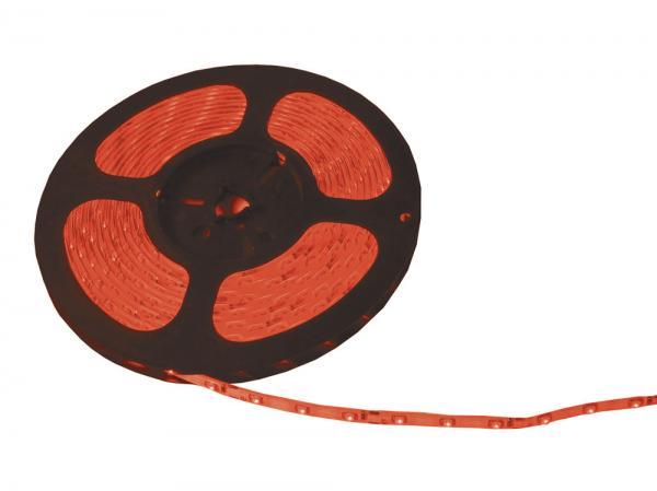 LED Strips / Kette Rot 4,8W/m 5m IP67  60LEDs/m 12VDC