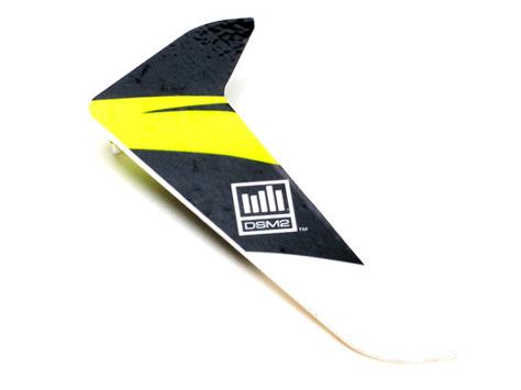 E-flite Blade 120 SR Heckleitwerk mit Dekor gelb
