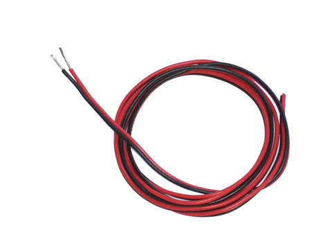 Empfänger Akku - Kabel 22AWG 0,32qmm