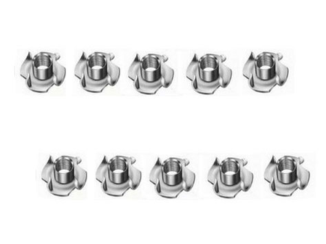 Simprop Einschlagmuttern M5 x 8  10Stück