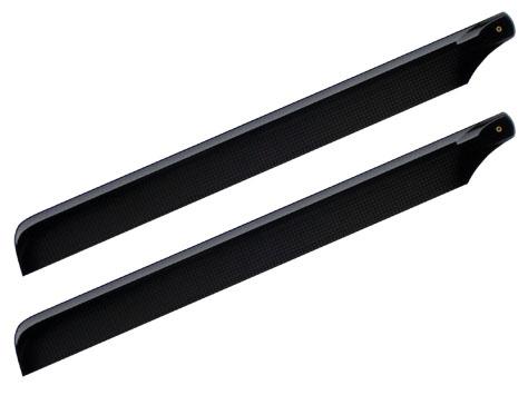 Nexspor 3K Carbon Rotorblätter 600mm Sichtcarbon