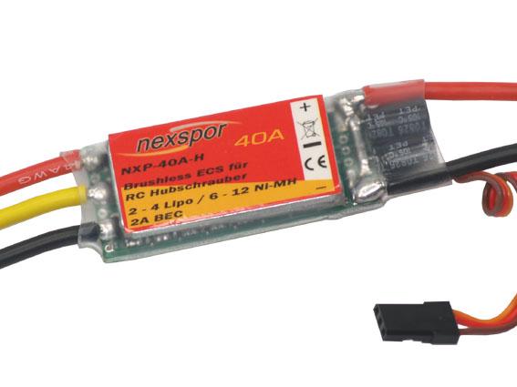 Brushless - Regler NEXSPOR NXP-40A-H 40A