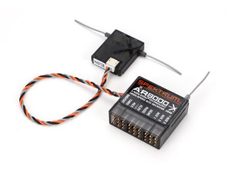 Spektrum AR8000 8 Kanal DSM x Empfänger (lose)