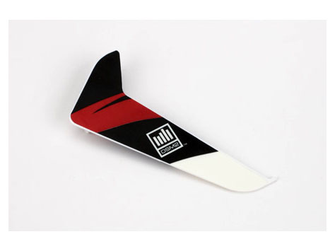 E-flite Blade 120 SR Heckleitwerk mit Dekor rot