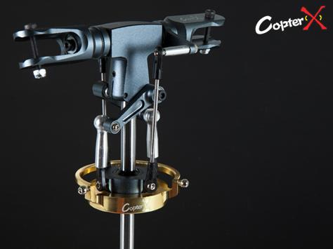 CopterX Alu 2 Blatt RIGID Rotorkopf für 500er
