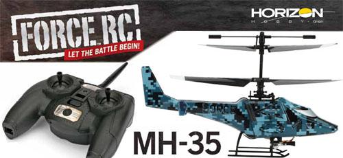 FORCE MH-35 2,4GHz Heli RTF Set Mode2
