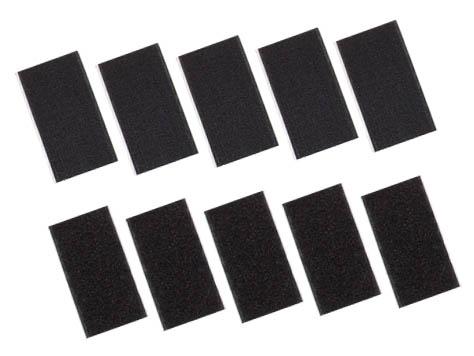 Klettband 50 x 90 mm 5x Hakenband 5x Flausch