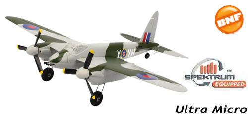 Parkzone Ultra Micro DH98 Mosquito Mk VI BNF
