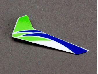 E-flite Blade mCPX Heckleitwerk mit Dekor grün