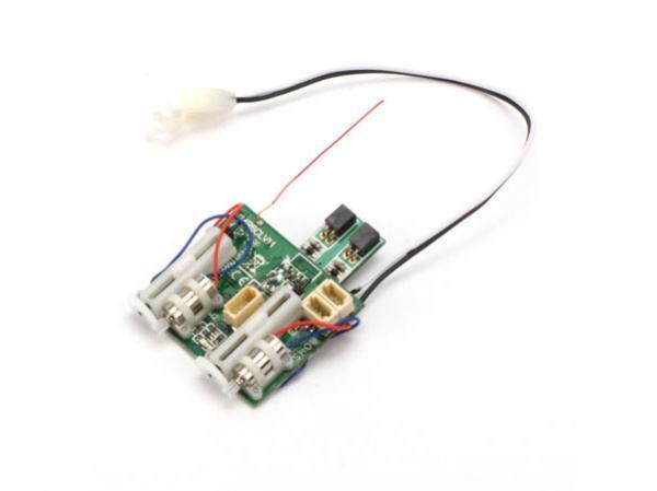Spektrum AR6400T DSM2 6 Kanal DSM2 Empfänger mit 2 Reglern