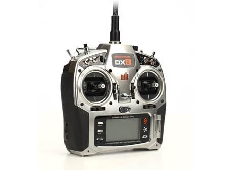 Spektrum DX8 DSMX nur Sender Mode 1-4