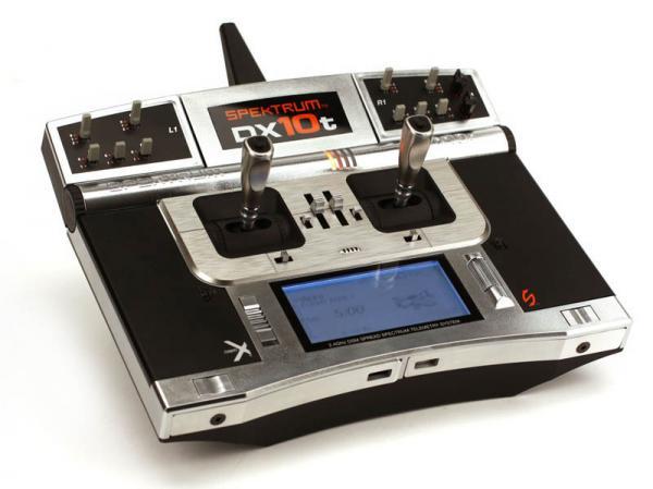 Spektrum DX10t Telemetrieanlage mit AR10000