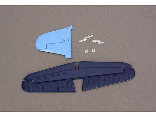 Parkzone UM F4U Micro Corsair Leitwerk komplett