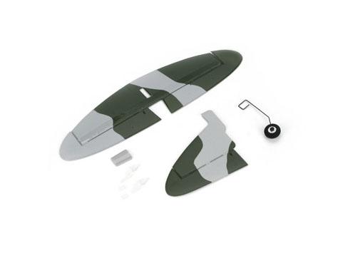 Parkzone UM DH98 Mosquito Mk VI Heck Set lackiert