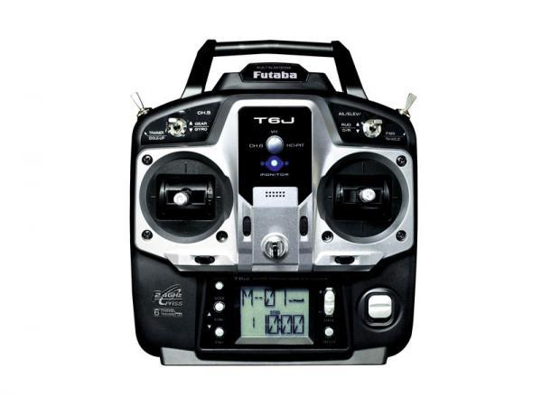 Futaba Sender T6J-R2006GS 2,4 GHz FHSS