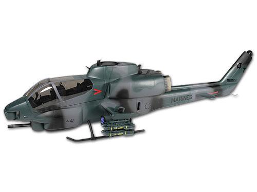 Align AH-1 Cobra Scale Rumpf tarnfarben T-Rex 500