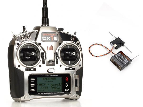 SPEKTRUM DX7s 2,4GHz DSMx Sender & Empfänger AR8000