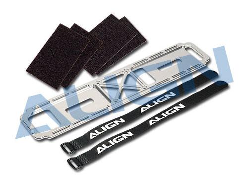 Align T-Rex 700E Akkuhalterung CNC Aluminium 1St # H70084