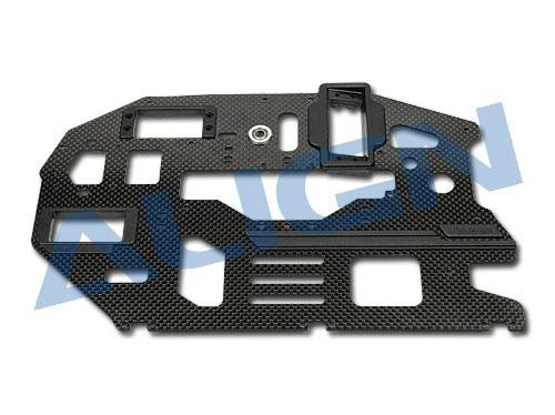 Align T-Rex 600 PRO Carbon Hauptrahmenplatte 2mm rechts