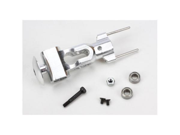E-flite Blade 450 Rotorkopfzentralstück CNC Alu