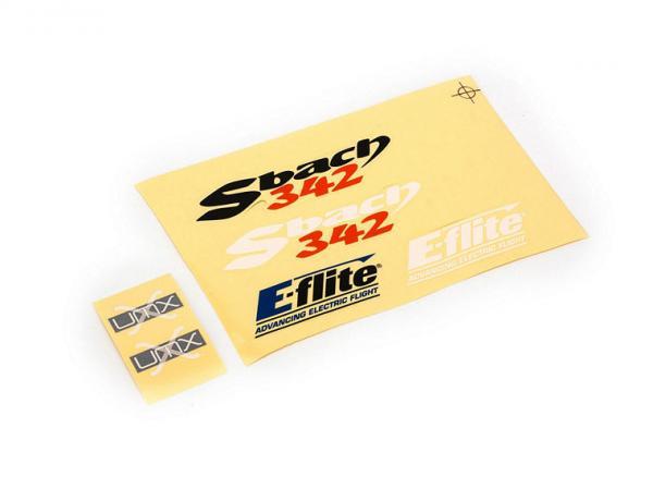 E-flite UMX Sbach 342 Aufklebersatz