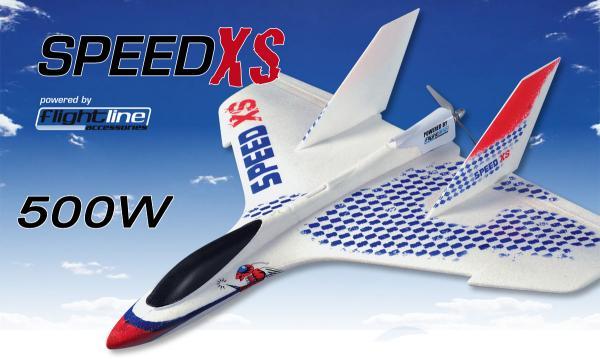 Flightline Speed XS mit 500W POWER Antrieb für 3S Li-Po PNP