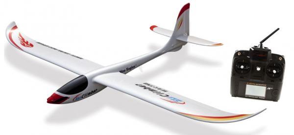 Robbe - Nine Eagles Sky Climber RTF Segler mit 5K 2,4GHz Sender 2. Wahl