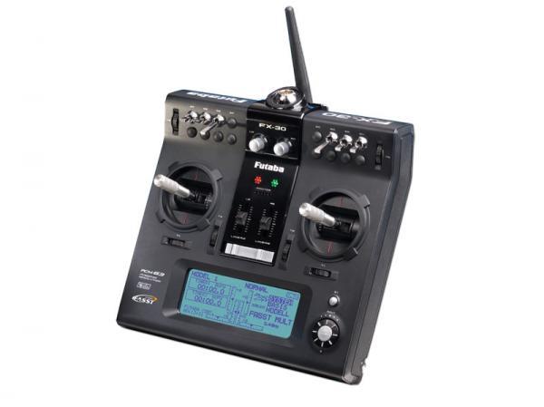 Futaba Pultsender FX-30 2,4GHz mit Empf R6014 FASST