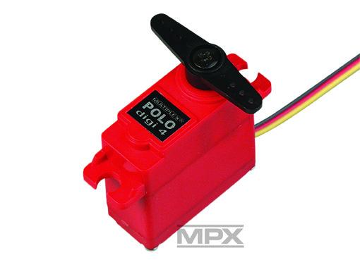 Multiplex Digital Servo POLO digi 4 mit Metall-Getriebe