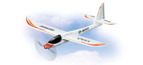 Multiplex RR Merlin mit BL-Antrieb, LiPo-Akku und Modelltasche