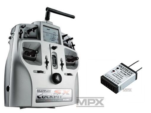 Multiplex COCKPIT SX Classic Light-Set M-LINK mit RX-7 DR light 2,4 GHz