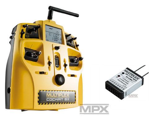 Multiplex COCKPIT SX Action Light-Set M-LINK mit RX-7 DR light 2,4 GHz