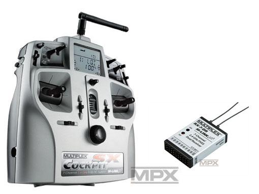 Multiplex COCKPIT SX Classic Telemetry M-LINK mit RX-7 DR 2,4 GHz