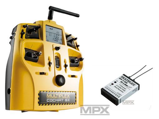 Multiplex COCKPIT SX Action Telemetry M-LINK mit RX-7 DR 2,4 GHz