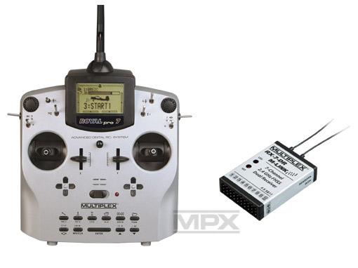 Multiplex ROYALpro 7 Vario-Set Telemetry M-Link mit RX-7 DR 2,4GHz