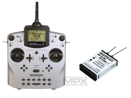 Multiplex ROYALpro 9 Vario-Set Telemetry M-Link mit RX-9 DR 2,4GHz