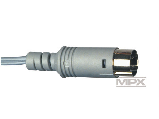 Multiplex Sender-Ladekabel (Diodenstecker)