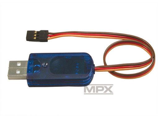 Multiplex USB-PC-Kabel (UNI) RX