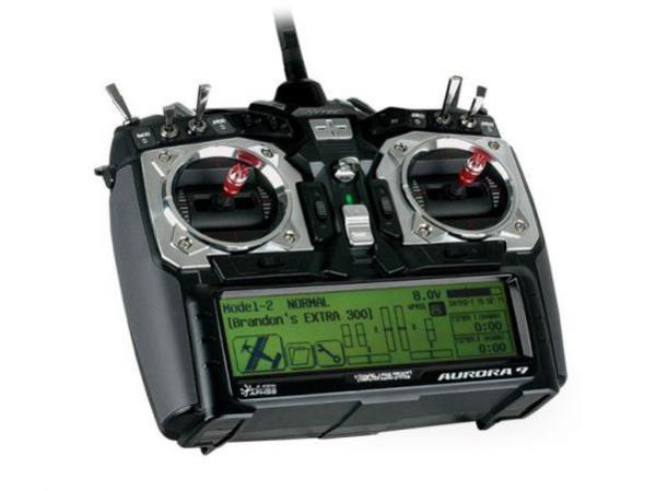Hitec Aurora 9 2,4GHz Sender mit Optima 7 Set