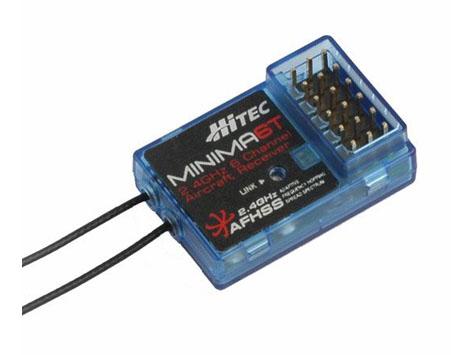 Hitec MINIMA 6T Micro AFHSS 2,4 GHz 6 Kanal Empfänger
