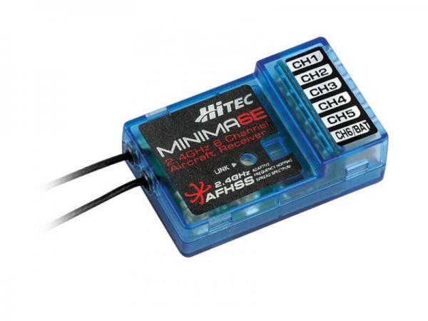 Hitec MINIMA 6E Micro AFHSS 2,4 GHz 6 Kanal Empfänger Endpin