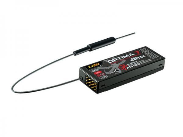 Hitec OPTIMA 7 Full Range AFHSS 2,4 GHz 7 Kanal Empfänger