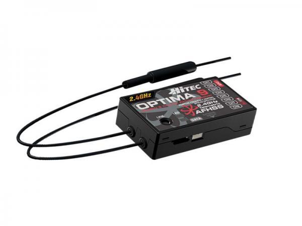 Hitec OPTIMA 9 Full Range AFHSS 2,4 GHz 9 Kanal Empfänger