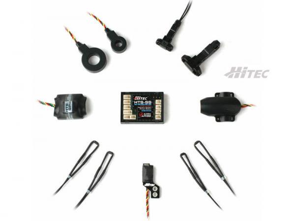 HiTEC HTS Blue Telemetrie Elektro Combo Komplett-Paket