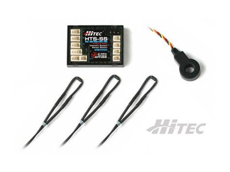 HiTEC HTS Blue Telemetrie Elektro Basic Combo