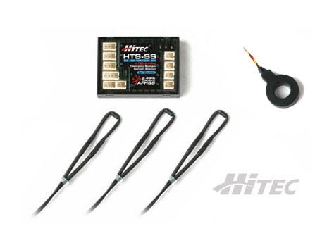 HiTEC HTS Blue Telemetrie Elektro High Current Combo