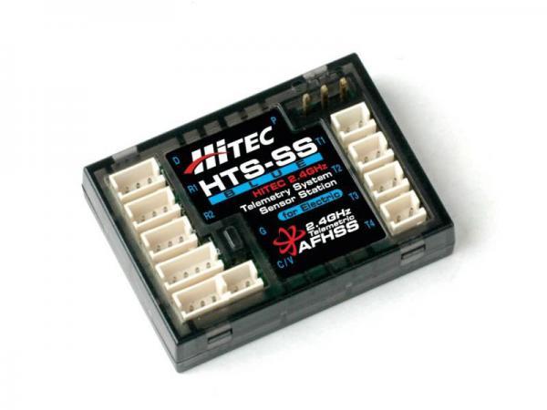 Hitec HTS-SS Blue Telemetrie Sensor Station für E-Modelle