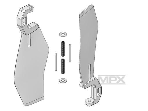 Multiplex Heckrotorblätter (1Paar) FunCopter